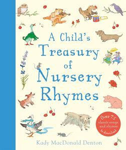 CHILDS TREASURY OF NURSERY RHYMES