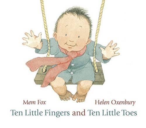 TEN LITTLE FINGERS AND TEN LITTLE TOES (BOARD)