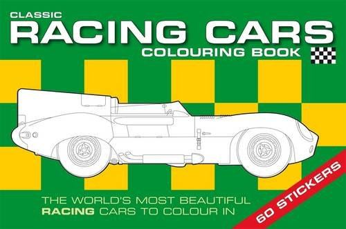 CLASSIC RACING CARS COLOURING BOOK