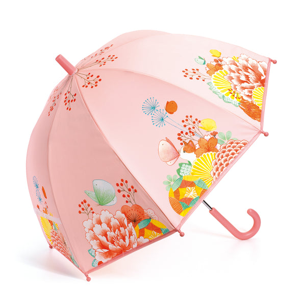 Flower Garden Pink Umbrella