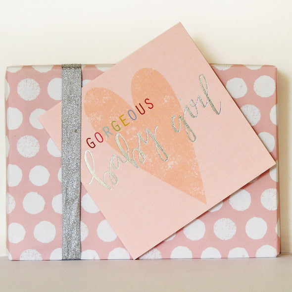 Gorgeous Baby Girl Card