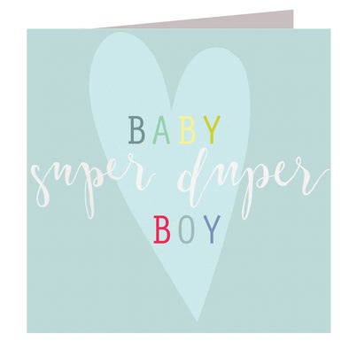 Super Baby Boy Card
