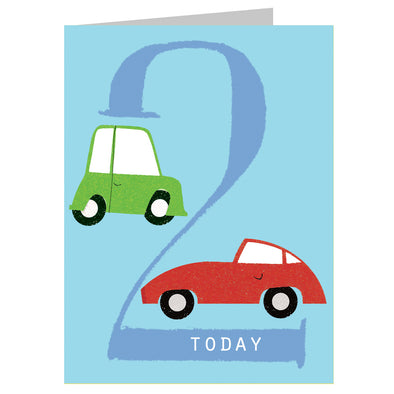 Mini Age 2 Car Card