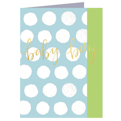 Mini Baby Boy Card