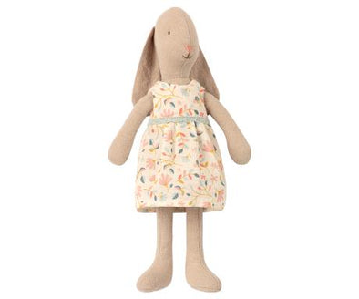 MAILEG- BUNNY SIZE 1, FLOWER DRESS