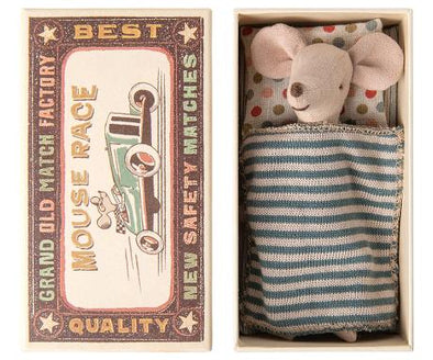 MAILEG- BIG BROTHER MOUSE IN MATCHBOX