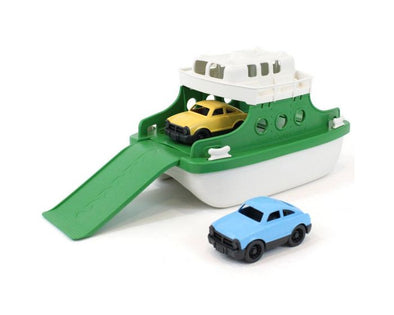 Ferry Boat - Green/White