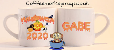 Children's Halloween Mugs