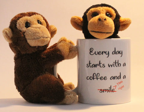 Coffee and a smile