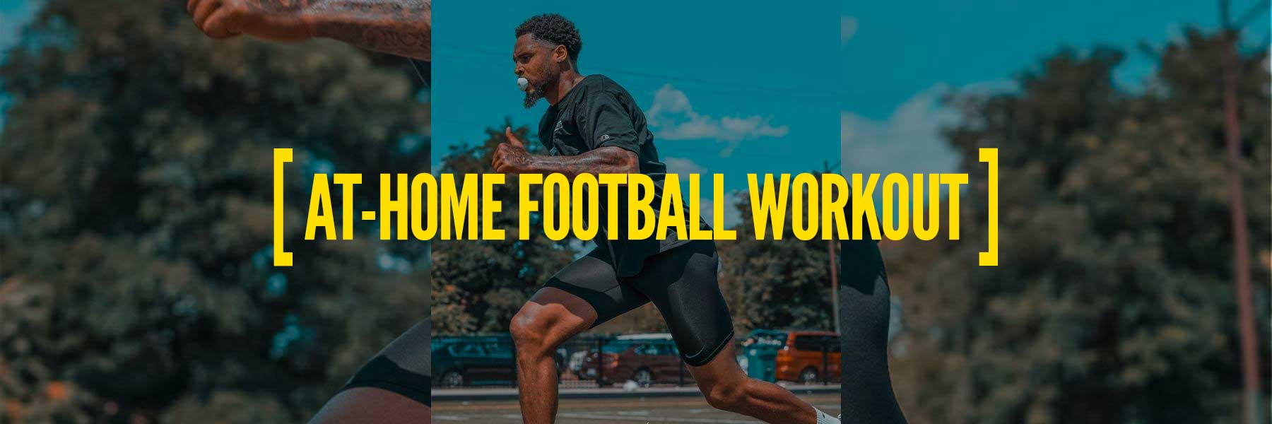 5 Best In-Home Football Workouts