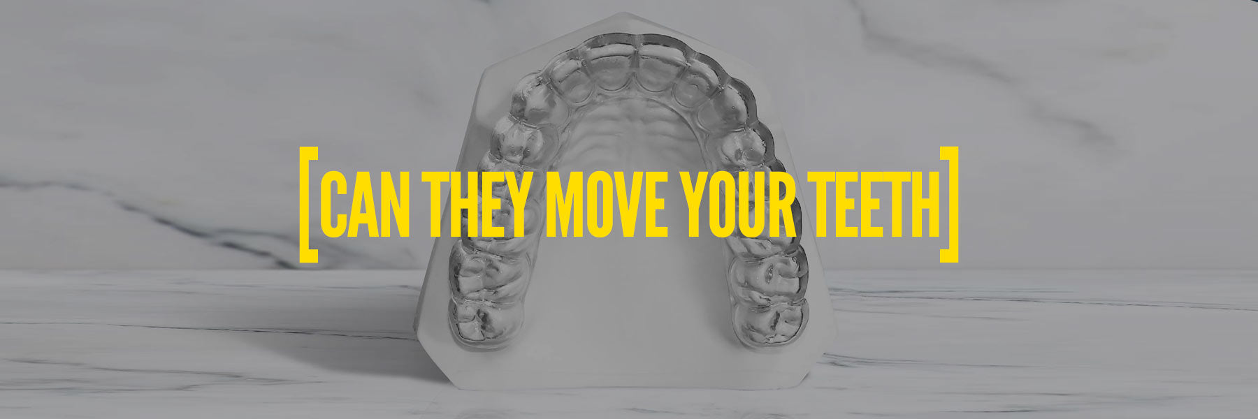 Can a mouthguard shift your teeth?