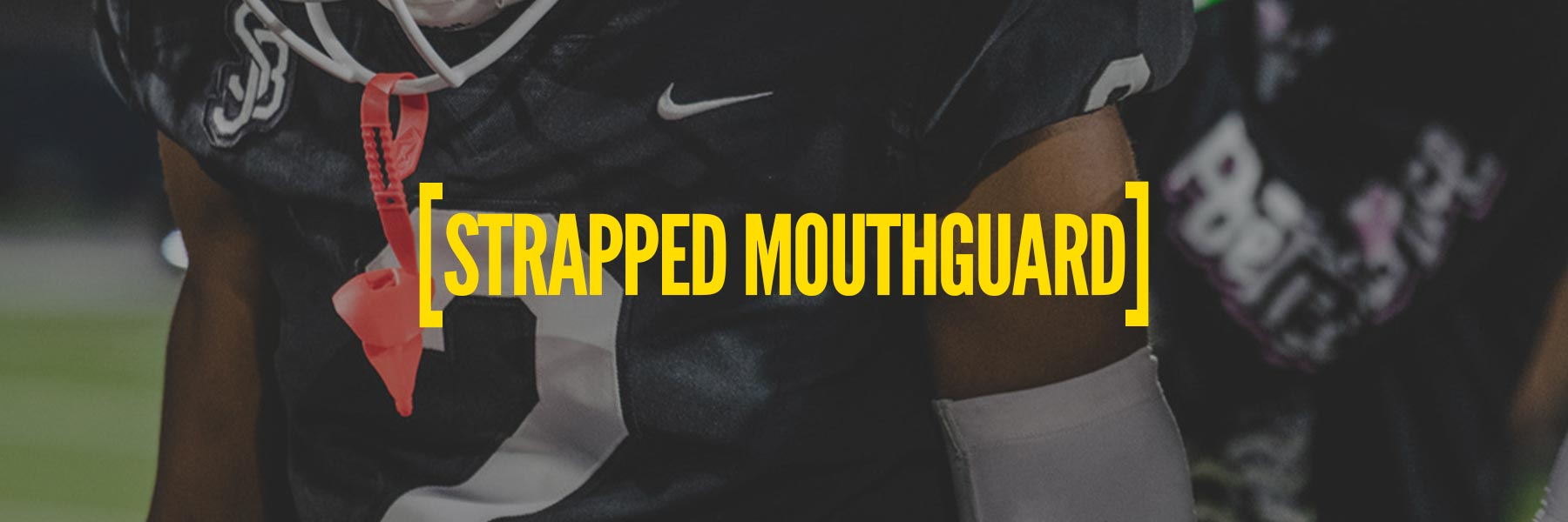Mouthguard with strap