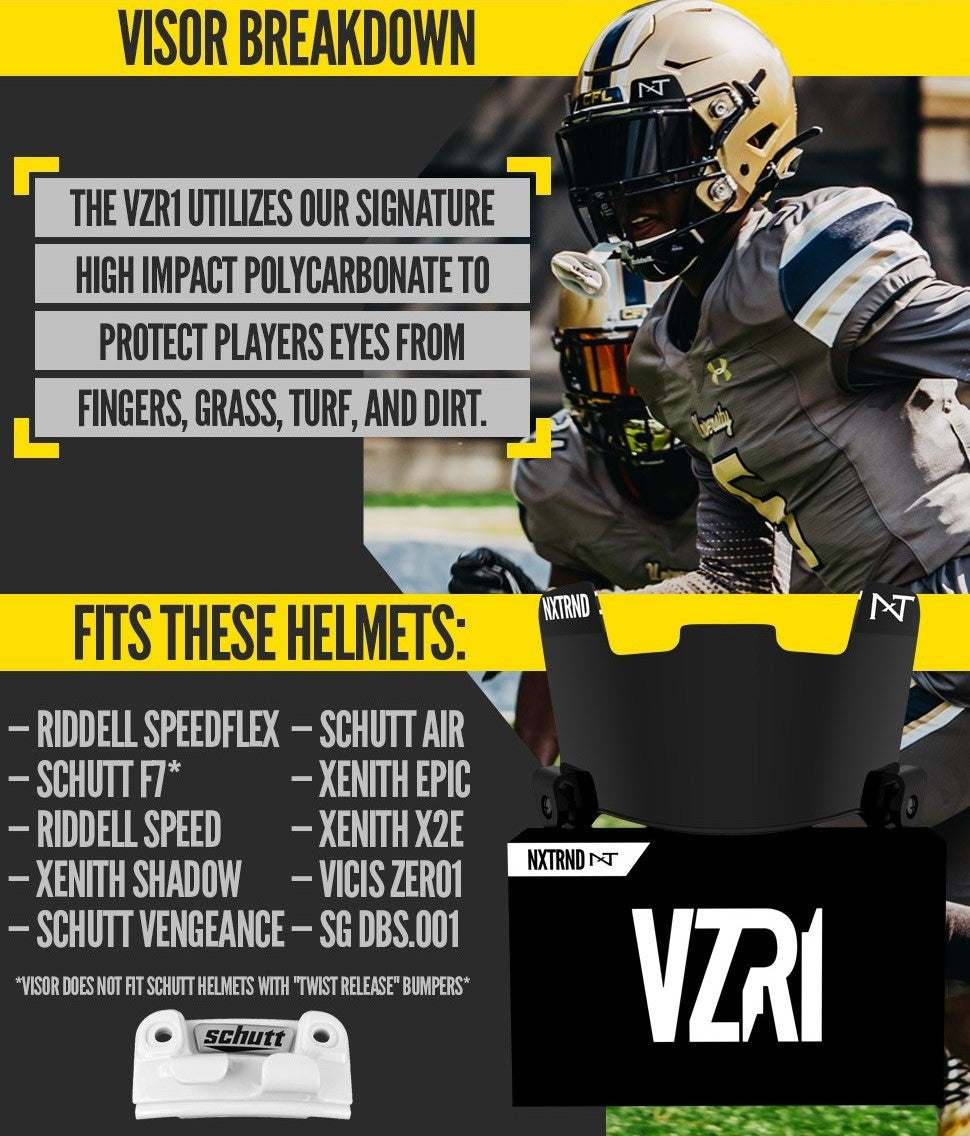 Nxtrnd Football Visors