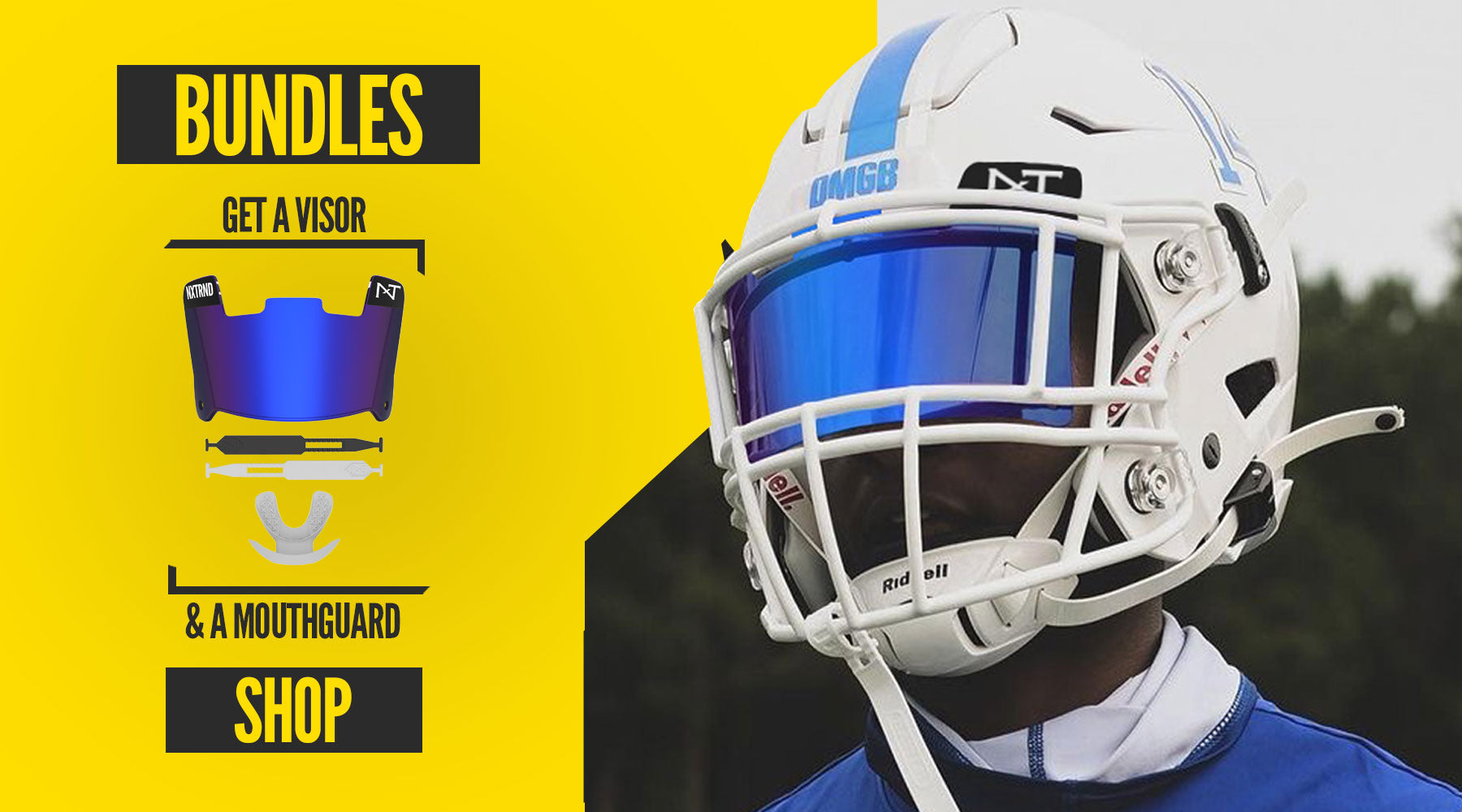 Shop Visors and Mouthguards