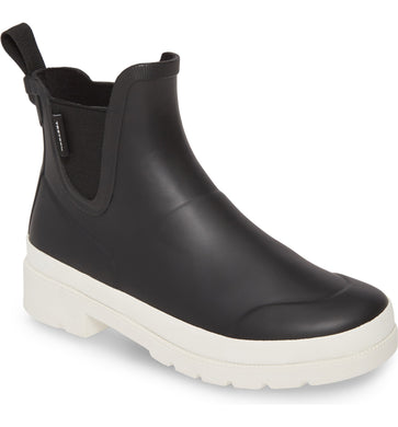 Tretorn Lina Boots in Black/Vintage White W-LINA3