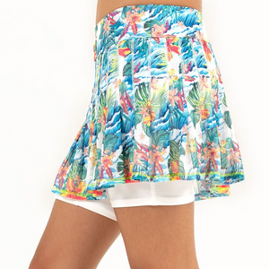 Lucky in Love Tropicalia Mesh Printed Skirt B106-B07955