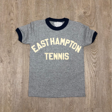 East Hampton Tennis Kids Ringer Tee