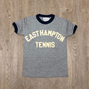 East Hampton Tennis James Kids Ringer Tee