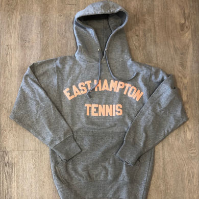 East Hampton Tennis James Hoodie Grey/Pink