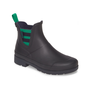 Tretorn Lina Boots in Night/Night+Green W-LINA2