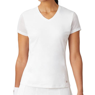 Fila White Line Call Mesh Sleeve Top TW015333