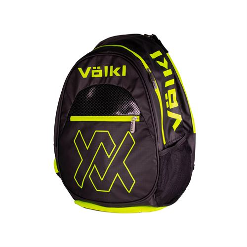 Volkl Team Backpack Black/Neon Yellow
