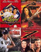 A League Of Their Own - The Natural - The Legend Of Zorro - The Mask Of Zorro (1992,1984,2005,1998) [MA HD]
