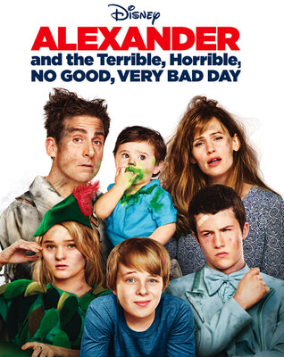 Alexander And The Terrible, Horrible, No Good, Very Bad Day (2014) [MA HD]