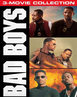 Bad Boys Trilogy 3-Movie Collection (1995-2020) [MA HD]