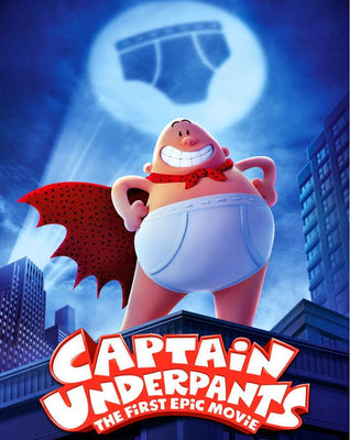 Captain Underpants: The First Epic Movie (2017) [MA HD]