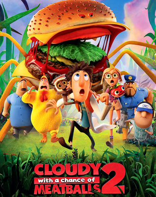 Cloudy with a Chance of Meatballs 2 (2013)  [MA HD]