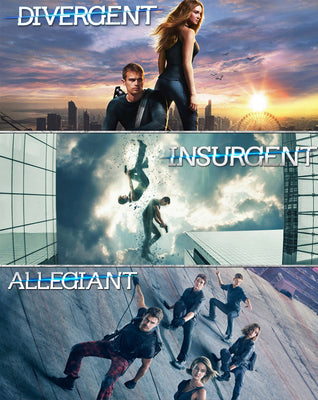 The Divergent Series Triple Feature (Bundle) (2014,2015,2016) [Vudu SD]