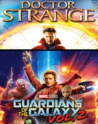 Guardians Of The Galaxy Vol. 2 And Doctor Strange Bundle (2016,2017) [MA HD]