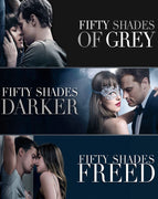 Fifty Shades 3 Movie Collection (2015,2017,2018) [Vudu HD]