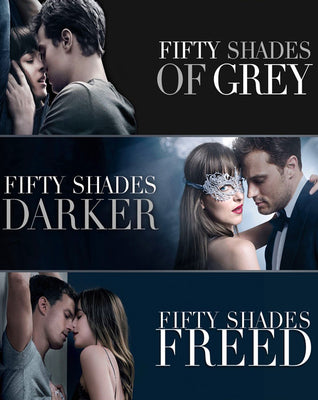Fifty Shades 3 Movie Collection (2015,2017,2018) [MA HD]