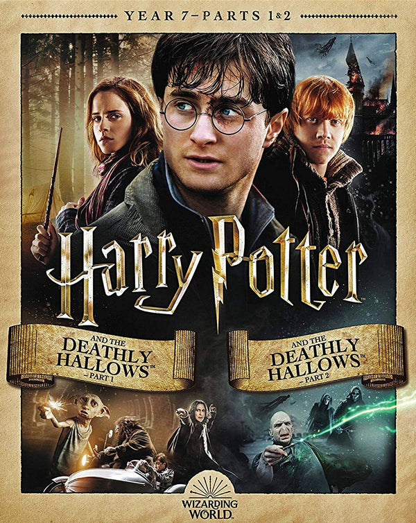 Harry Potter And The Deathly Hallows Collection Parts 1 & 2 (2010,2011) [MA HD]