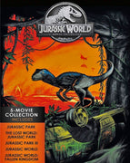 Jurassic World - Jurassic Park 5-Movie Collection (1993,1997,2001,2015,2018) [MA HD]