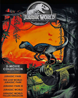 Jurassic World - Jurassic Park 5-Movie Collection (1993,1997,2001,2015,2018) [MA 4K]