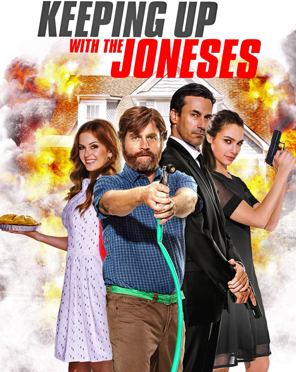 Keeping Up With the Joneses (2016) [MA HD]