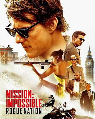 Mission: Impossible Rogue Nation (2015) [M:I-5] [Vudu 4K]