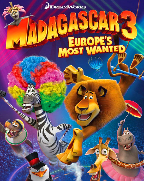 Madagascar 3: Europe's Most Wanted (2012) [MA HD]
