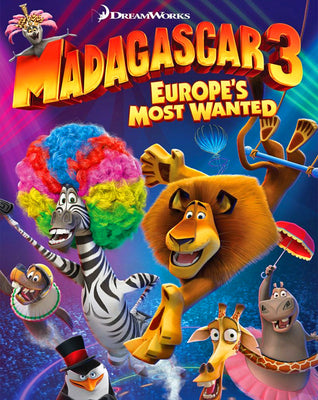 Madagascar 3: Europe's Most Wanted (2012) [Vudu HD]