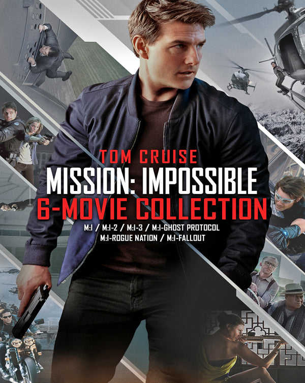 Mission: Impossible - 6 Movie Collection (Bundle) (1996-2018) [Vudu 4K]