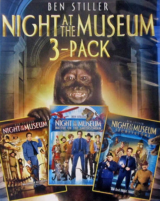 Night at the Museum 1-3 (2006,2009,2014) [MA SD]