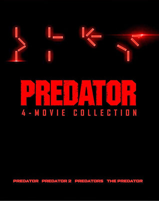 Predator 4-Movie Collection (1987,1990,2009,2018) [MA HD]