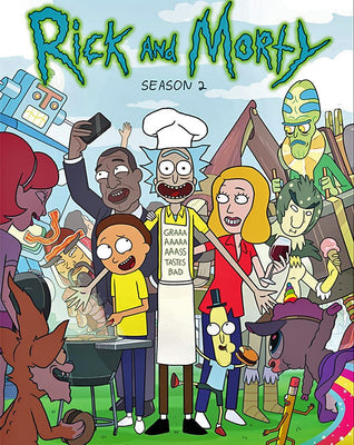 Rick and Morty Season 2 [Vudu HD]