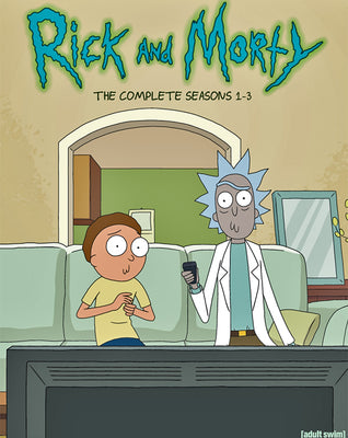 Rick and Morty Seasons 1-3 (2014-2017) [Vudu HD]