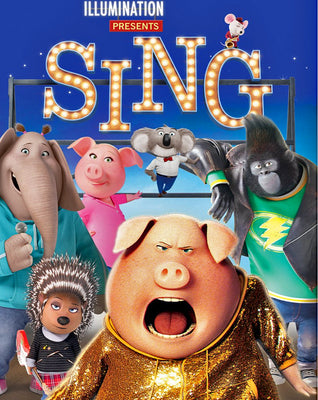SING (2016) [Ports to MA/Vudu] [iTunes 4K]