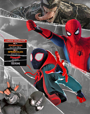 Spider-Man Universe Collection (2017,2018,2019) [MA HD]