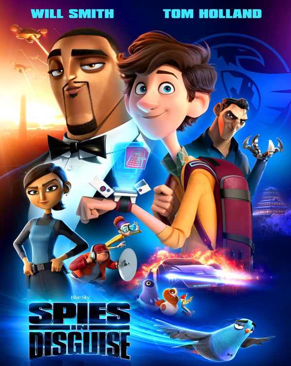 Spies in Disguise (2019) [GP HD]